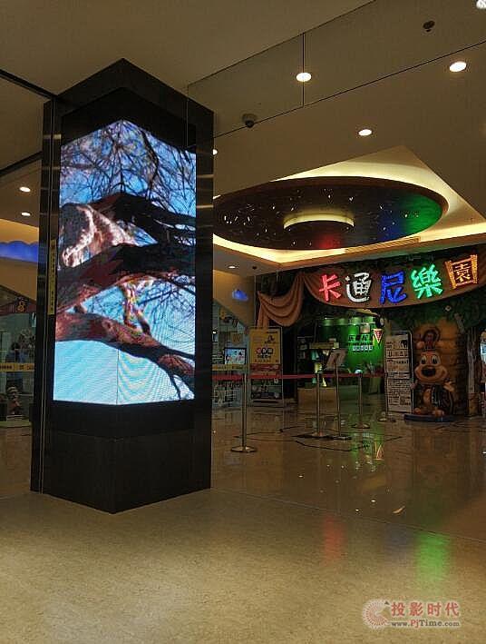 飞利浦LED屏应用于上海卡通尼乐园多个儿童游乐场