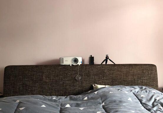 搬新家了,我用明基投影仪i0399换掉了电视机