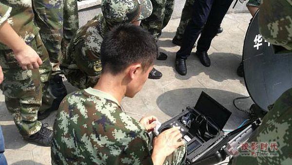 华平全力保障消防开展应急通信队伍师资骨干培训