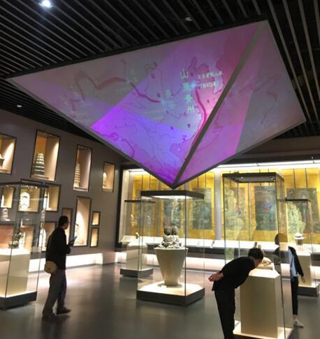 现代化展览典范 明基助力临汾市博物馆光影升级-视听圈