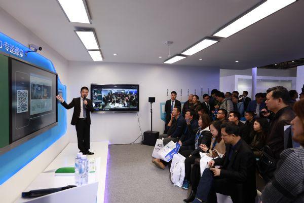 希沃独家冠名第75届普教展,重磅发布互动录播