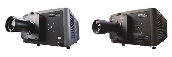 科视CP2220(左)和CP2230(右)DLP电影机
