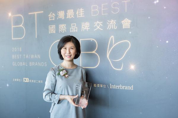 台达连续八年入选台湾20大国际品牌 品牌价值连续六年成长