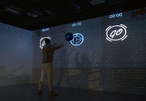 健身房+爱普生超短焦投影方案 让运动无处不在