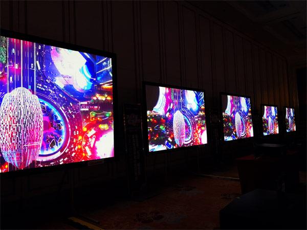 科视激光系列投影机五屏联播