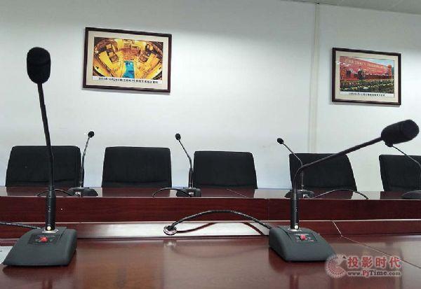 阳江核电厂区会议室使用QSC+铁三角产品