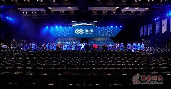 视爵显示屏成功入驻北美最大电子竞技场