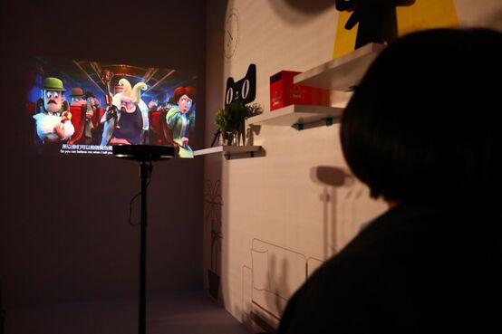 坚果激光电视用一场夜光旅程 迎来了投影超品日夺冠开门红