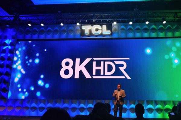 TCL QLED 8K TV抢先在CES发布,以创始成员身份加入8K联盟