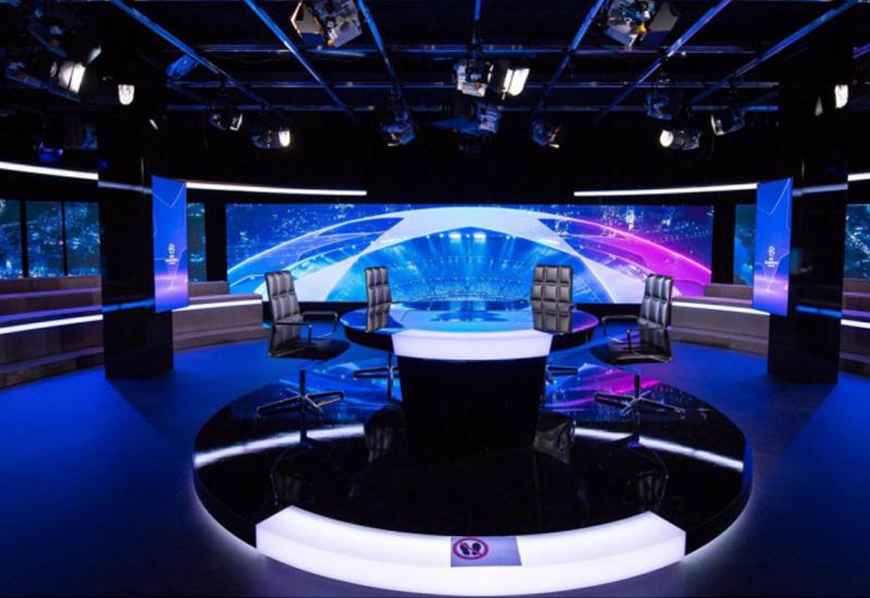 联建光电LED小间距显示系统闪耀瑞士电视台800�O演播厅