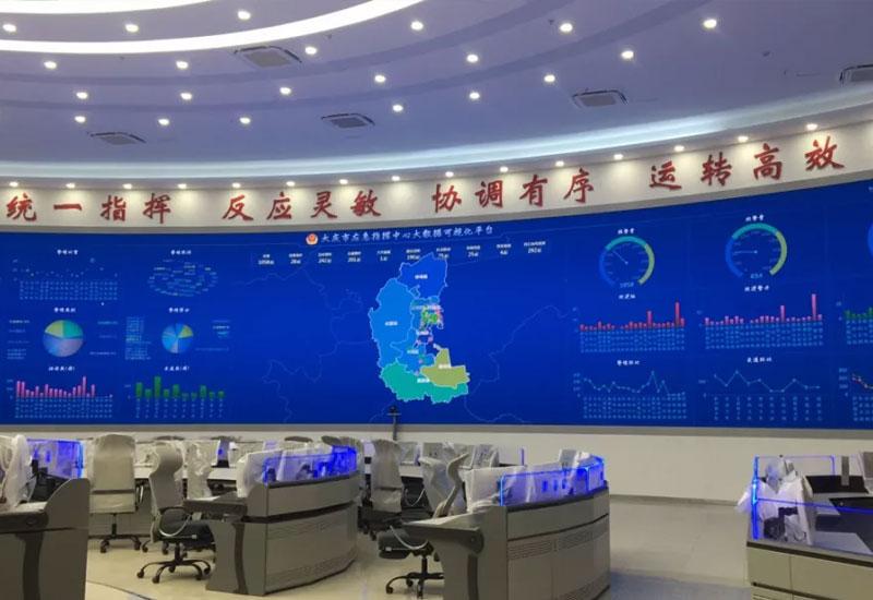 光网融合备份解决方案:大庆市应急指挥中心