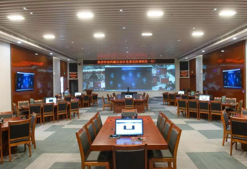 4K可视化分布式协作管理系统解决方案:重庆市委党校