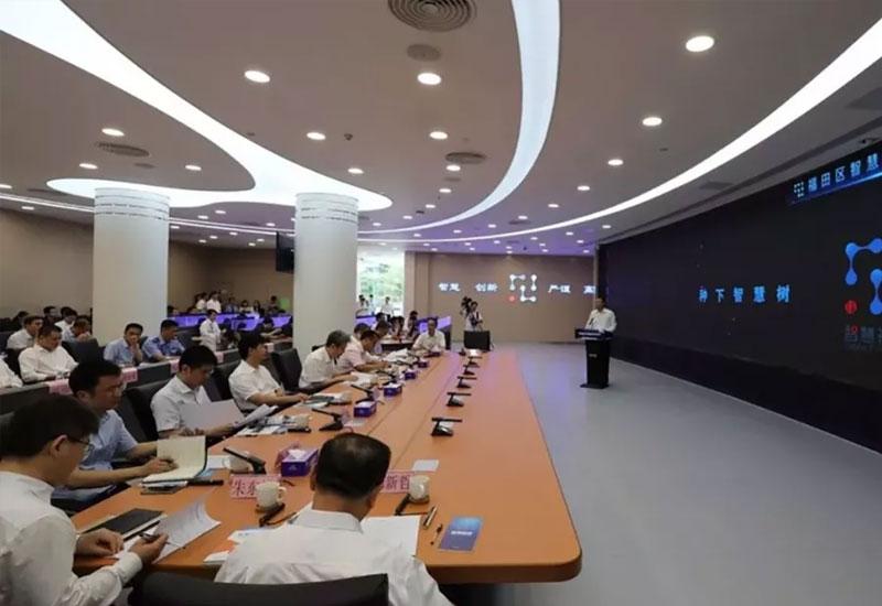图形图像综合管理平台解决方案:深圳市福田智慧城市指