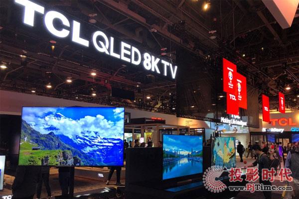 """CES2019展 8K电视成为了一道亮丽的""""风景线"""""""