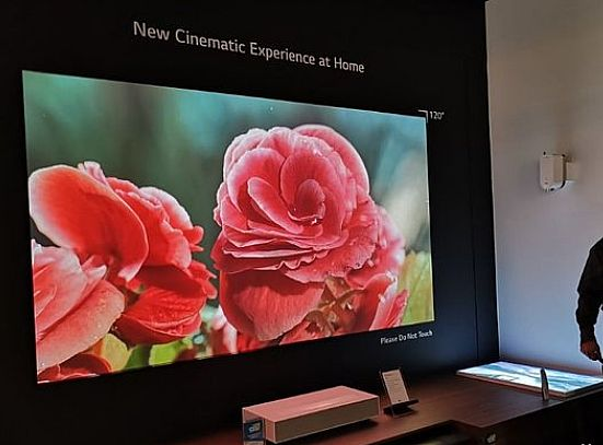 CES2019:激光电视新品类地位更巩固