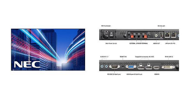NEC发布全新UN系列液晶拼接墙