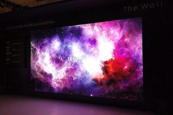 """三星The Wall:CES2019展会上为小间距LED""""再""""代言"""