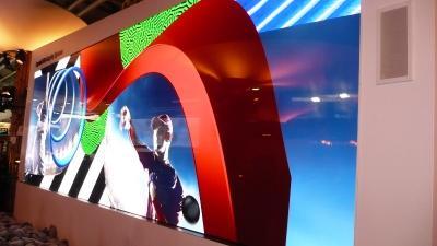 索尼ISE 2019展示两款Crystal-LED黑彩晶显示屏