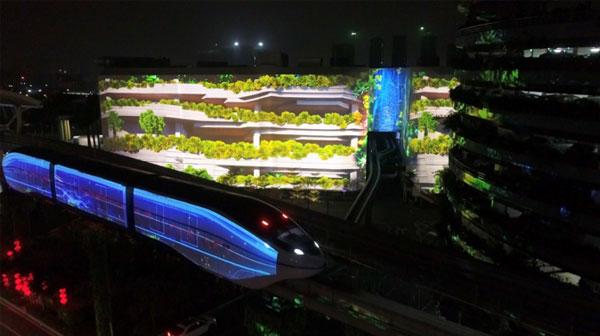 上春晚!光峰向世界展示中国激光显示技术雄心