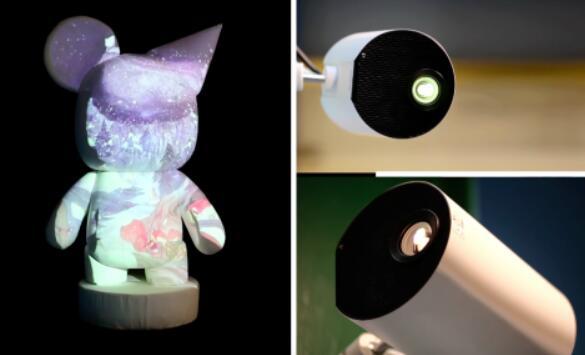 """3D mapping中投影灯在室内小空间的""""价值"""""""