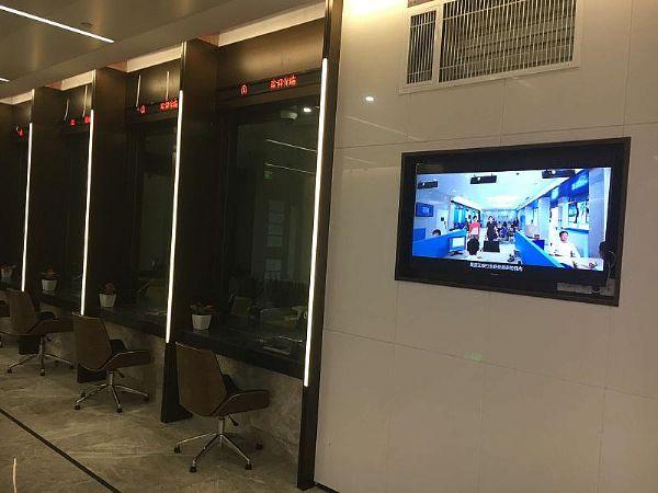 温州鹿城农村合作银行大厦引进56iq信息发布系统,多媒体信息发布系统,数字标牌,数字告示,digital signage