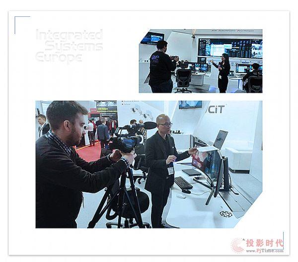 2019ISE AVCiT魅视全球推广鸣笛启航