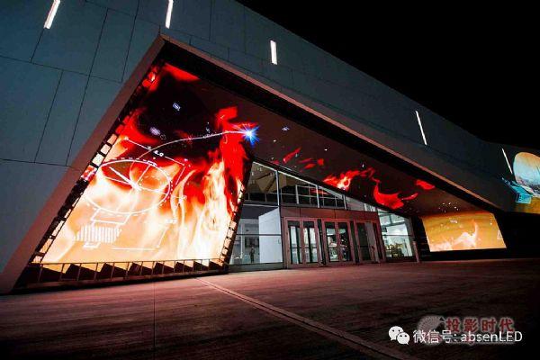 艾比森LED显示屏走进加拿大国家级科技博物馆