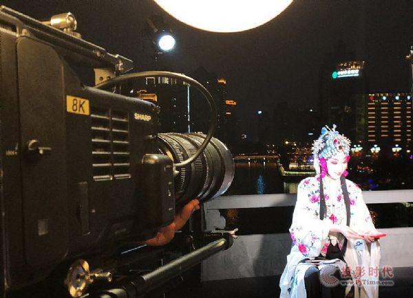 """夏普AWE2019预演?8K+5G直播""""夜游锦江""""首航"""