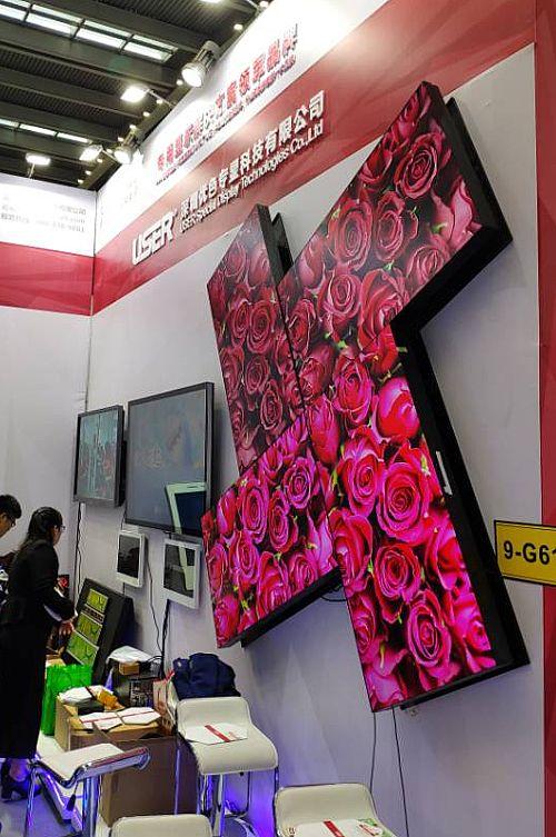 优色专显亮相2019年深圳国际LED展