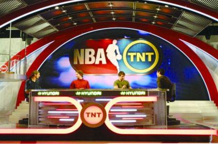 美国TNT电视台演播屏