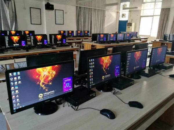 千台优质显示器落户福鼎,飞利浦为信息化教学再立新功