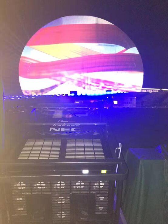 为珠海建市四十周年献礼 NEC在海上明珠绽放光芒