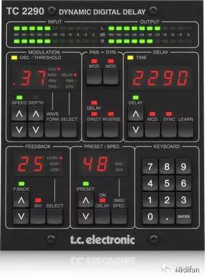 TC Electronic 新技术产品 TC2290-DT