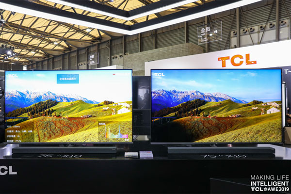 2019AWE,TCL携一众黑科技新品在等你来撩