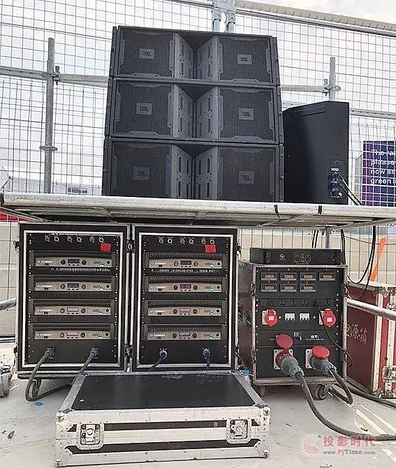 FE三亚站 JBL扩声系统点燃你的激情