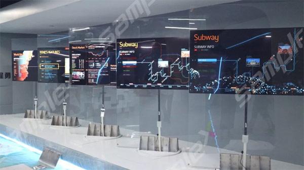 OLED再次走进深圳供电局,助力构建智慧电网展厅