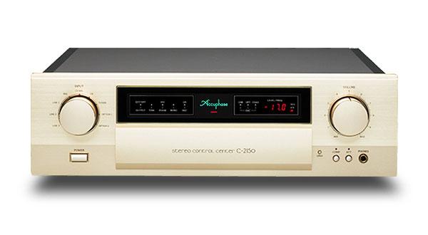 配备全新ANCC技术:Accuphase C-2150前级