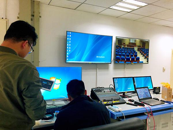赢康万力云为湘雅医院打造升级会议系统