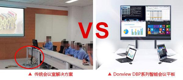 Donview智能会议平板帮助企业快速提升形象
