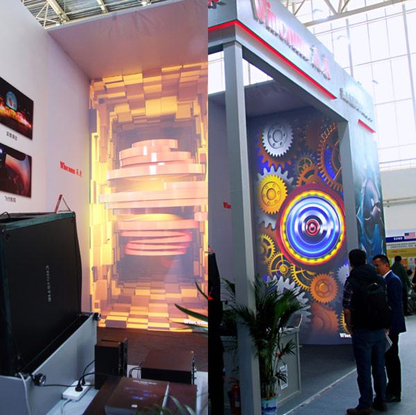 赢康携一流品牌产品亮相北京CAE展会现场