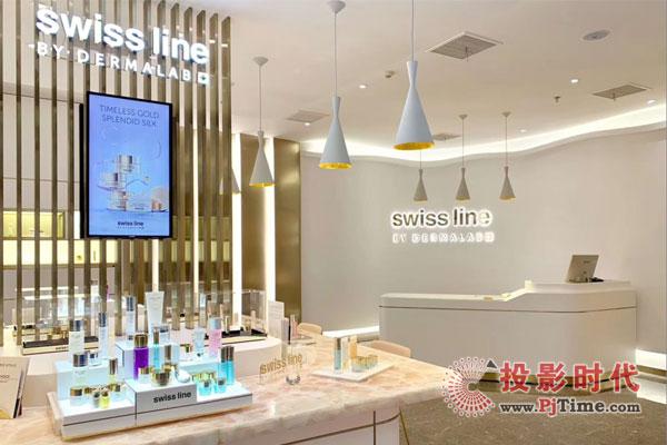 飞利浦LED屏应用于SWISS LINE项目 品牌形象大幅提升