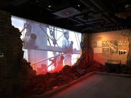 明基激光工程投影机打造上海历史博物馆融合投影方案