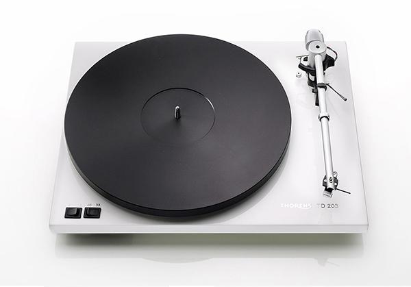 五分钟快速安装:Thorens TD 203黑胶唱盘