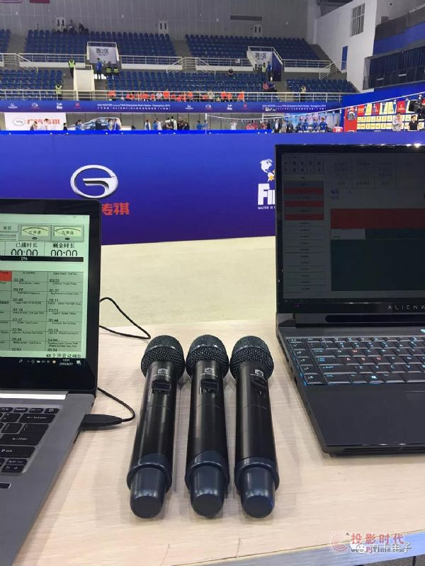 力卡专业演出音频系统助力2019 FINA冠军游泳赛!