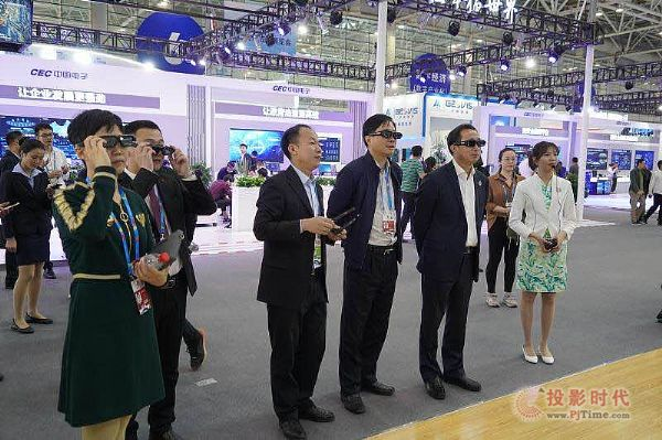 "LED-3D电影屏助阵""数字中国""建设峰会"