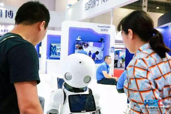 """北京翰博尔携""""智慧教室""""方案亮相高等教育博览"""