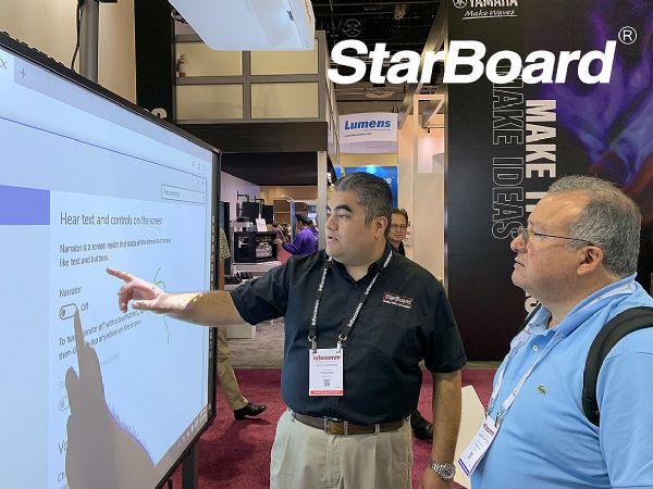 艾博德股份携旗下starboard品牌再次强势出击美国infocomm