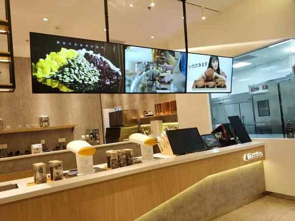 飞利浦商显入驻Sharetea冠捷店打造数字餐饮