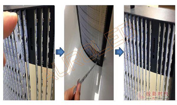 LED透明屏插接工艺
