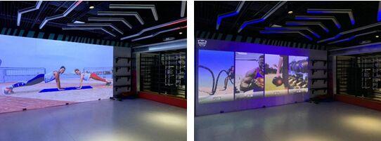 智慧健身未来可期,宏碁LU-U500投影打造交互运动空间